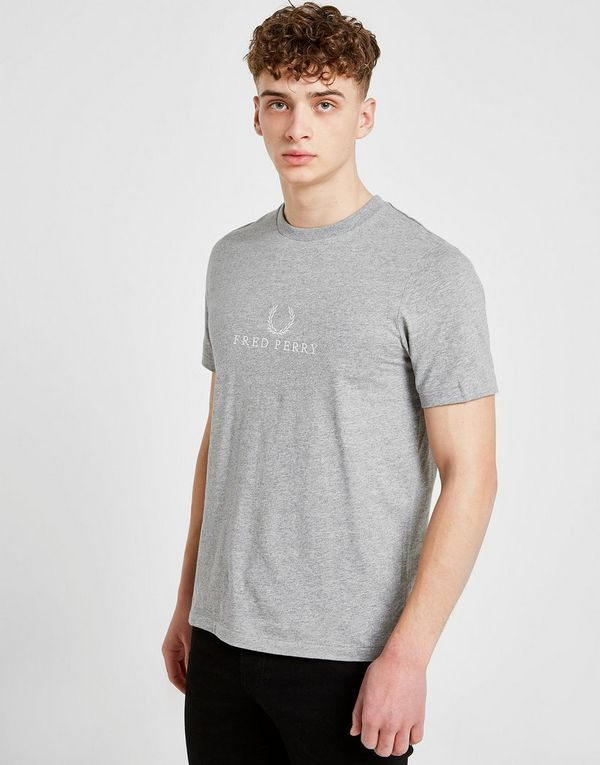 3390852a9 Fred Perry Embroidered T-Shirt | JD Sports