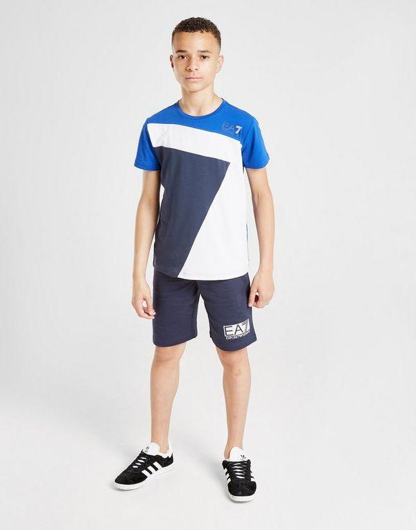 Emporio Armani EA7 7 Colour Block T-Shirt Junior