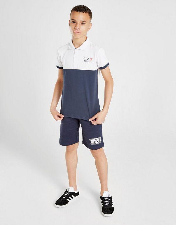 Emporio Armani EA7 Colour Block Polo Shirt Junior