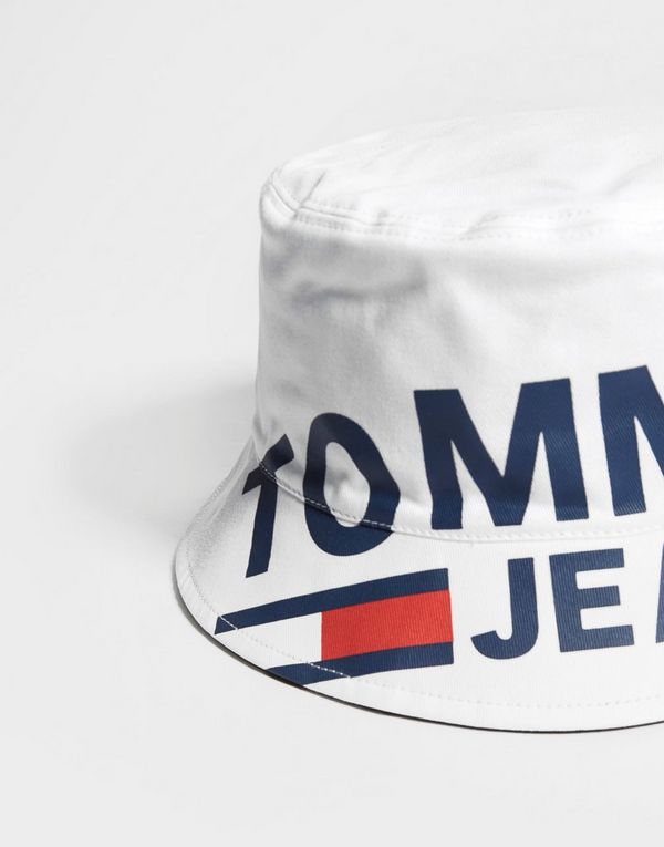 9e662a03d2a8cd Tommy Jeans Reversible Bucket Hat | JD Sports