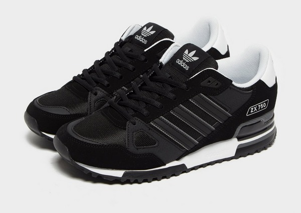 Shop den adidas Originals ZX 750 Herren in Schwarz | JD Sports