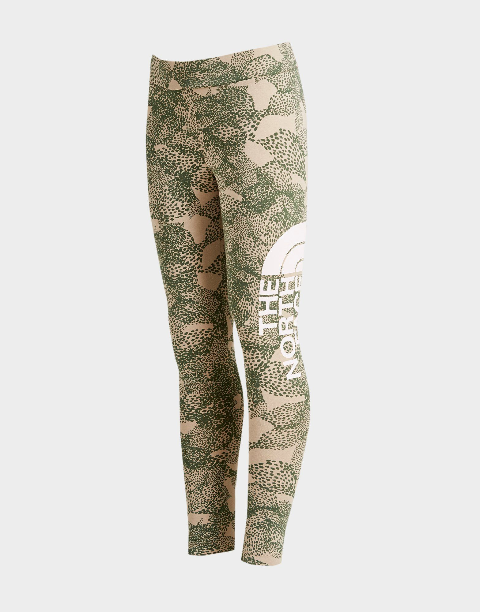 the-north-face-girls-all-over-print-logo-leggings-junior by the-north-face