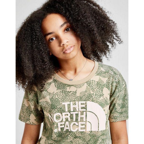 The North Face Girls' Crop Logo T-Shirt Junior