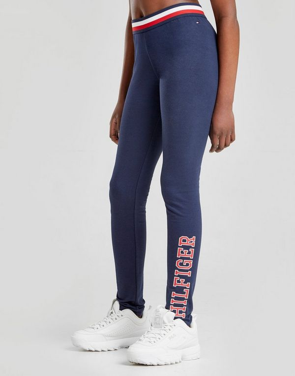 33cd66a23 Tommy Hilfiger Girls' Essential Logo Leggings Junior | JD Sports