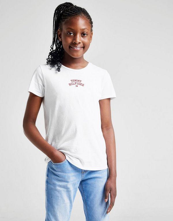 c11ee9219 Tommy Hilfiger Girls  Logo T-Shirt Junior