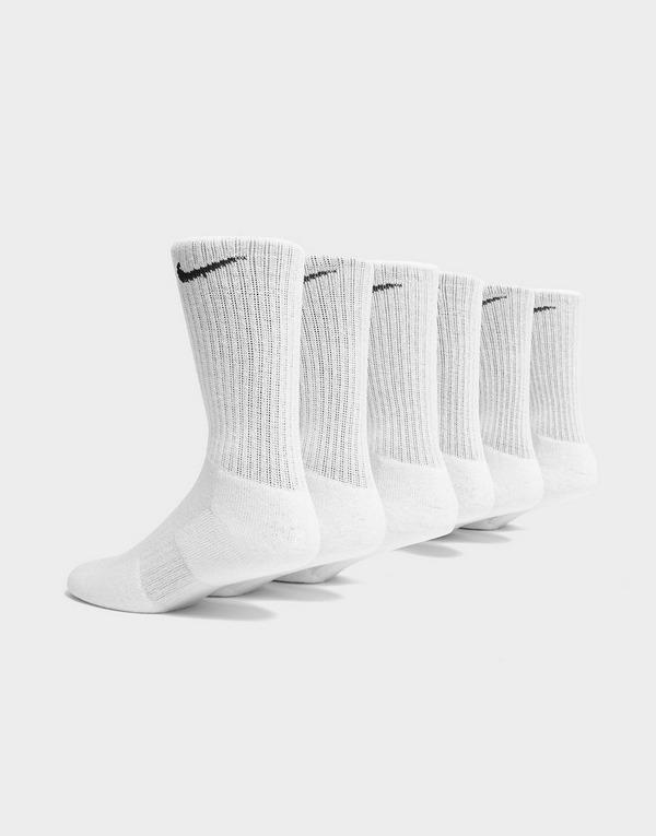 Nike 6 Pack Cushion Crew Socks