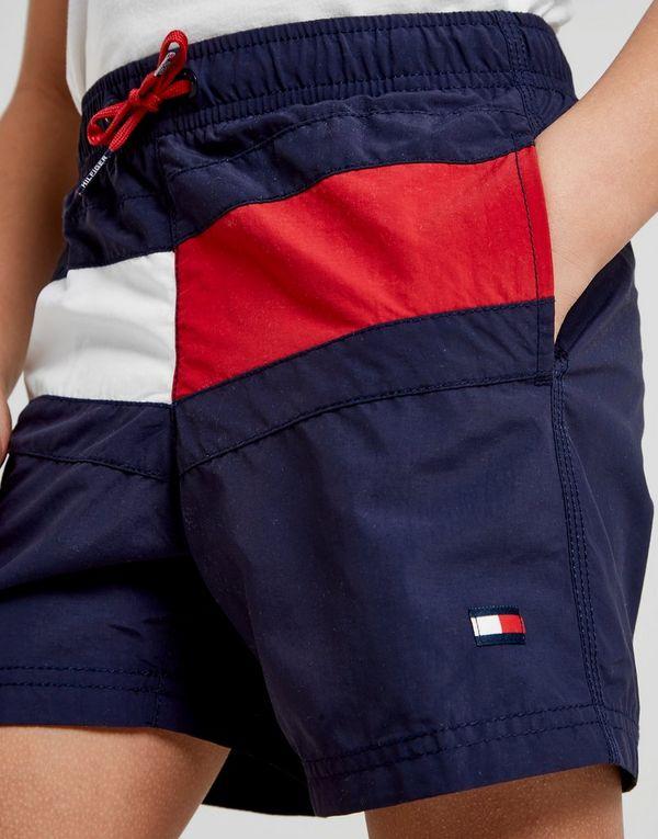 023357879 Tommy Hilfiger Flag Swim Shorts Children | JD Sports