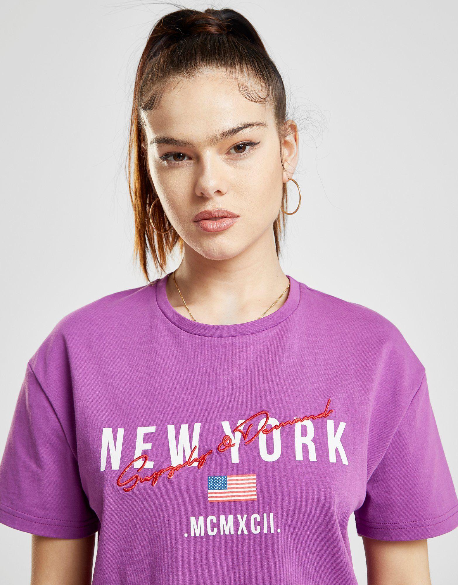 Supply & Demand New York Boxy T-Shirt