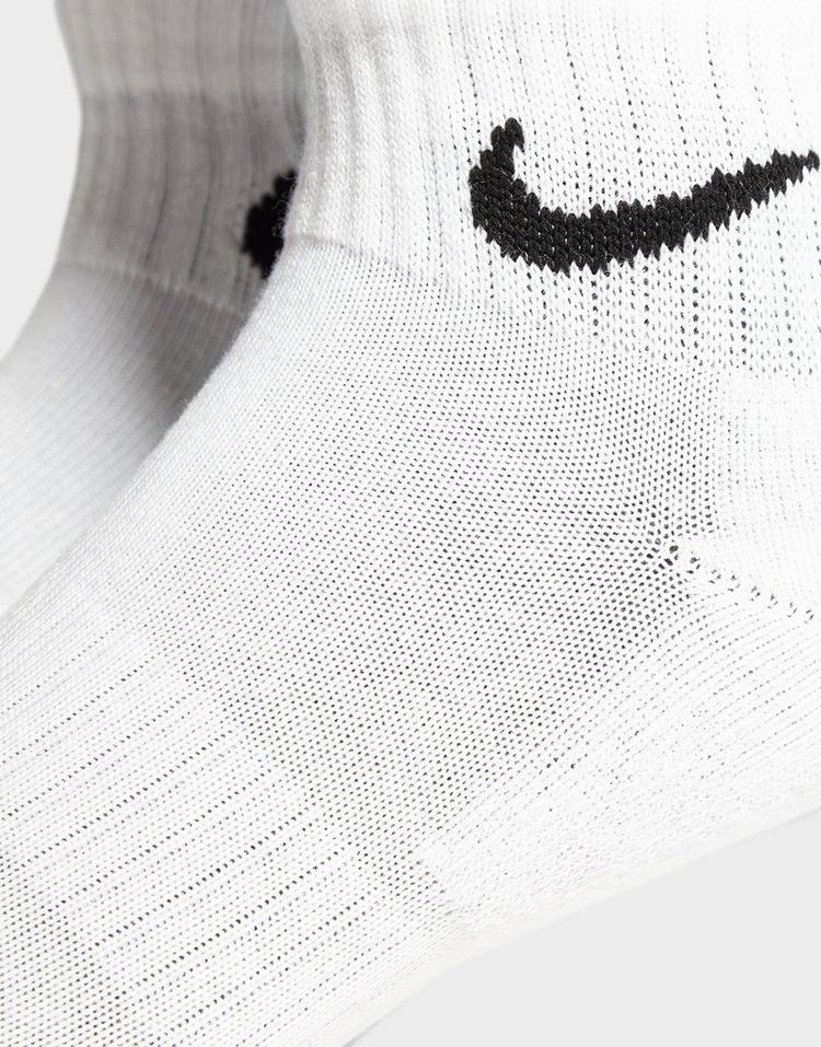 Nike 3 Pack Quarter Sukat