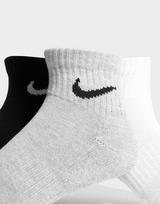 Nike 3-Pack Chaussettes Légères Quarter