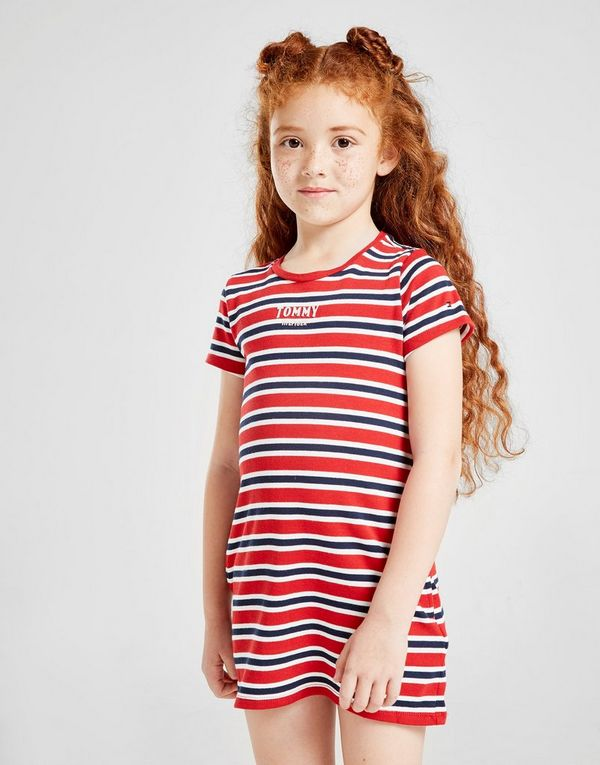 58e46138e Tommy Hilfiger Girls' Stripe Logo Dress Children | JD Sports