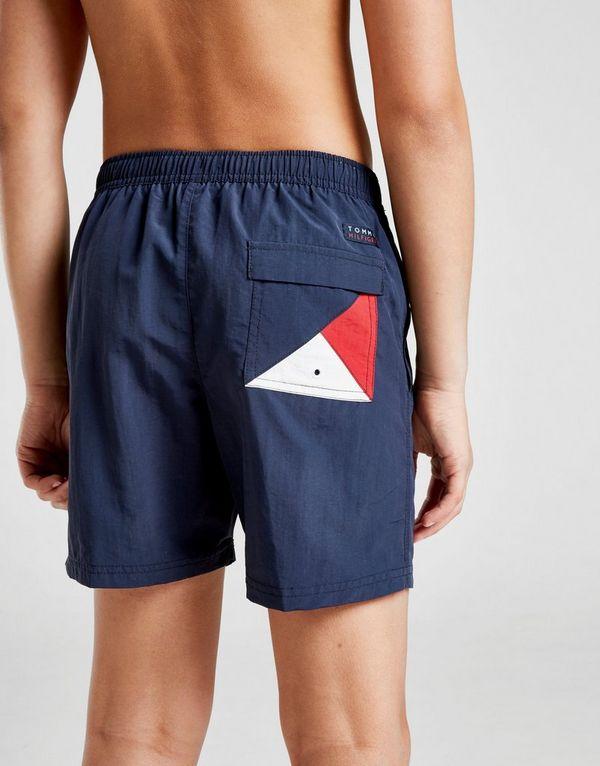 1ade9af8f5 Tommy Hilfiger Logo Swim Shorts Junior | JD Sports