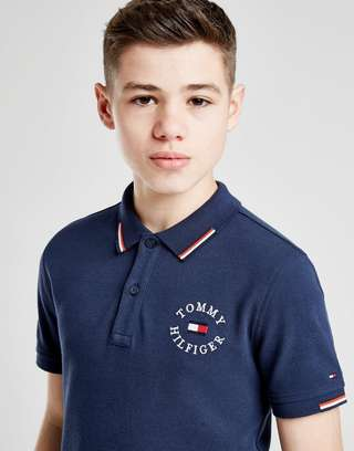 Tommy Hilfiger Badge Poly Polo Shirt Junior
