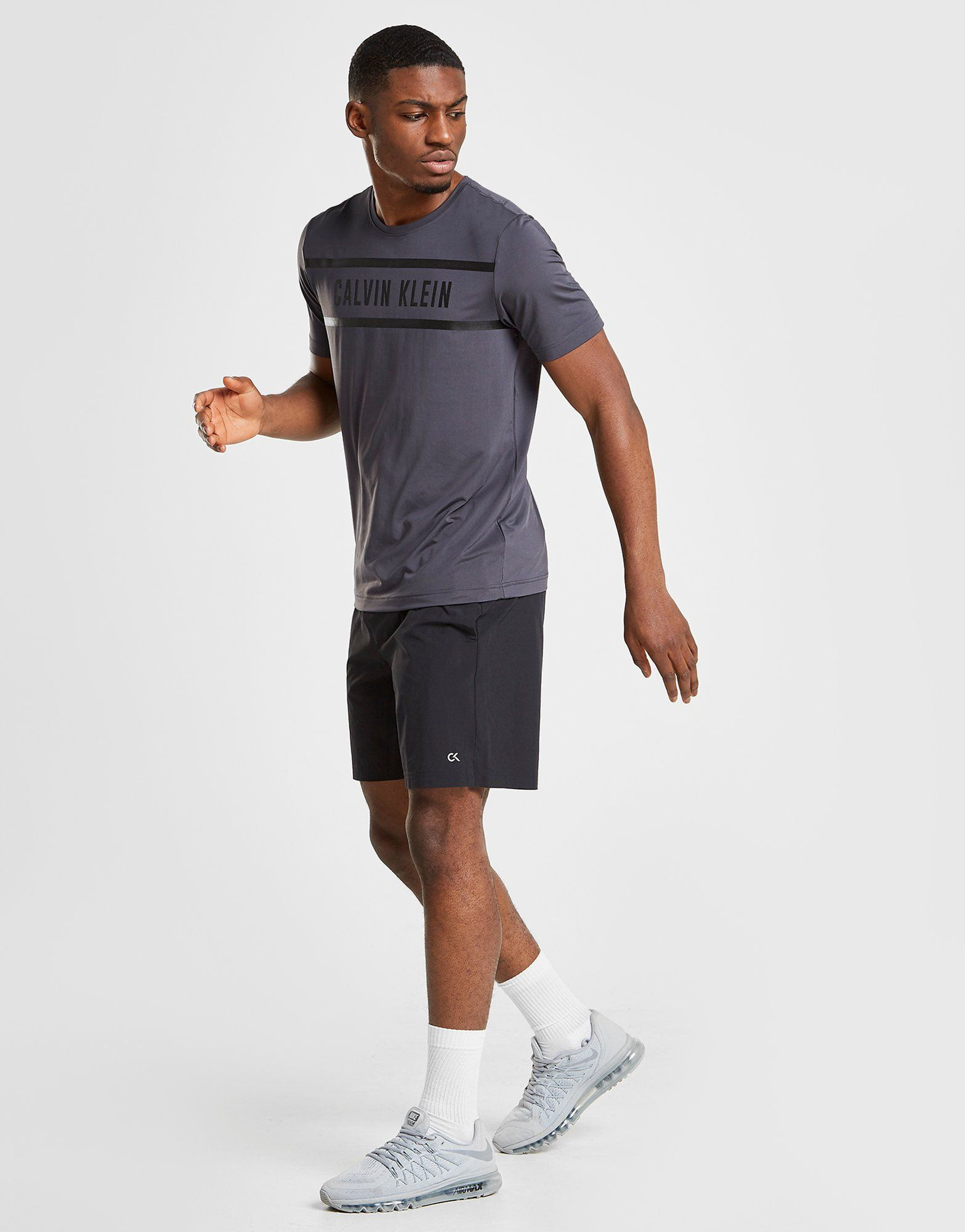 Calvin Klein Performance Print Panel T-Shirt