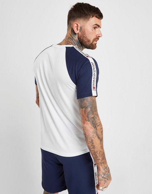 0a272e5c Tommy Hilfiger Tape Raglan T-Shirt | JD Sports
