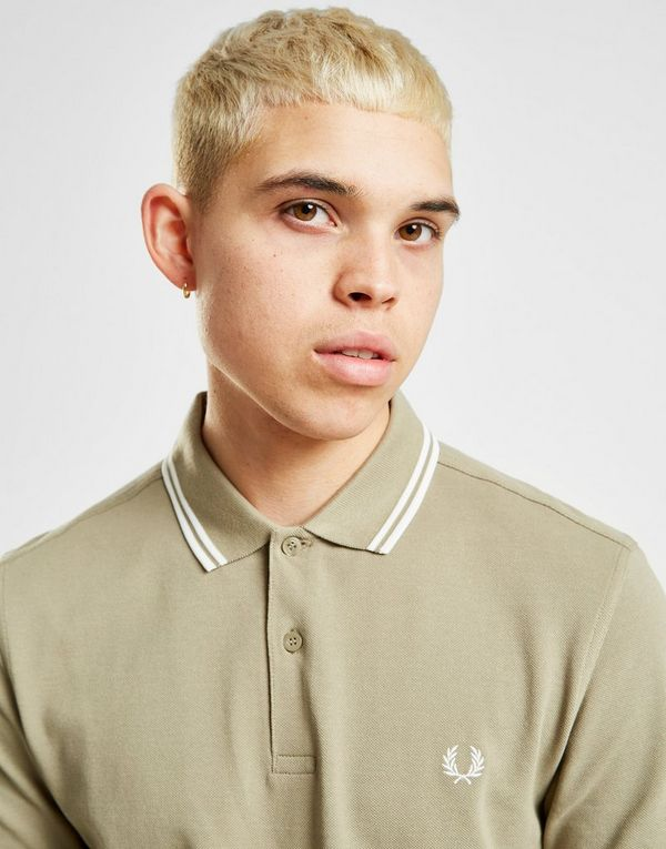 bd6e5899 Fred Perry Twin Tipped Short Sleeve Polo Shirt | JD Sports