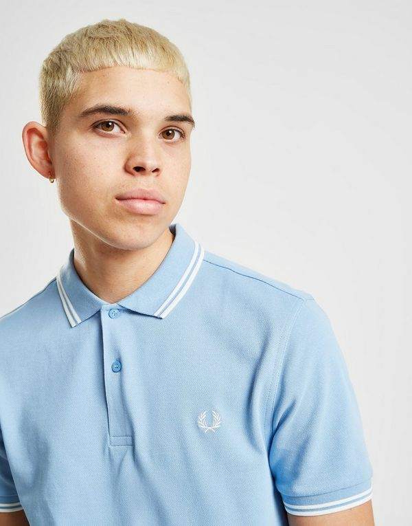 364e84dee Fred Perry Twin Tipped Short Sleeve Polo Shirt