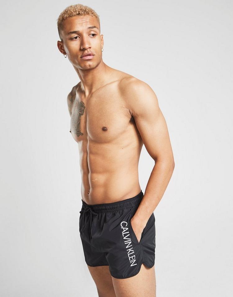 Calvin Klein Vertical Logo Swim Shorts