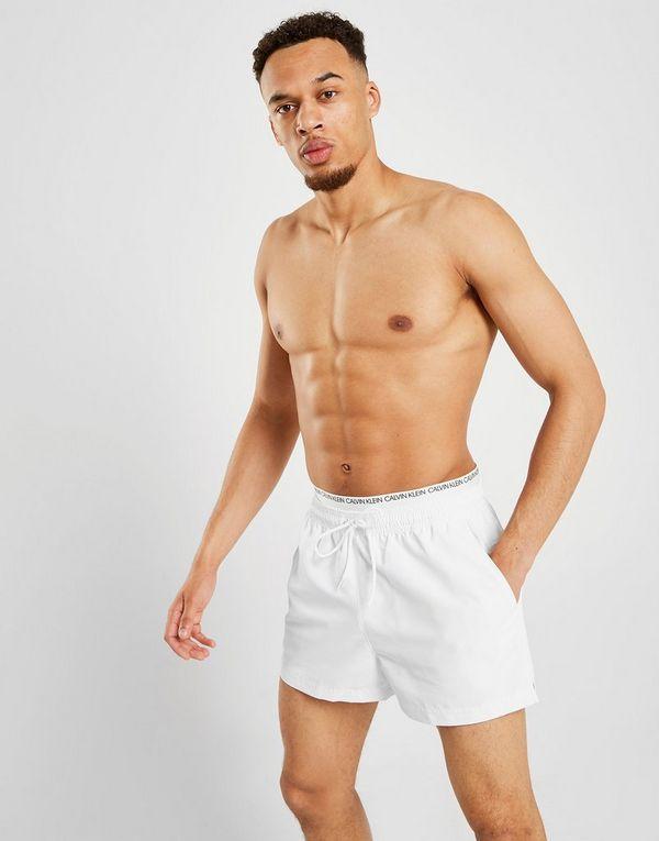 321b773677 Calvin Klein Double Waistband Swim Shorts | JD Sports