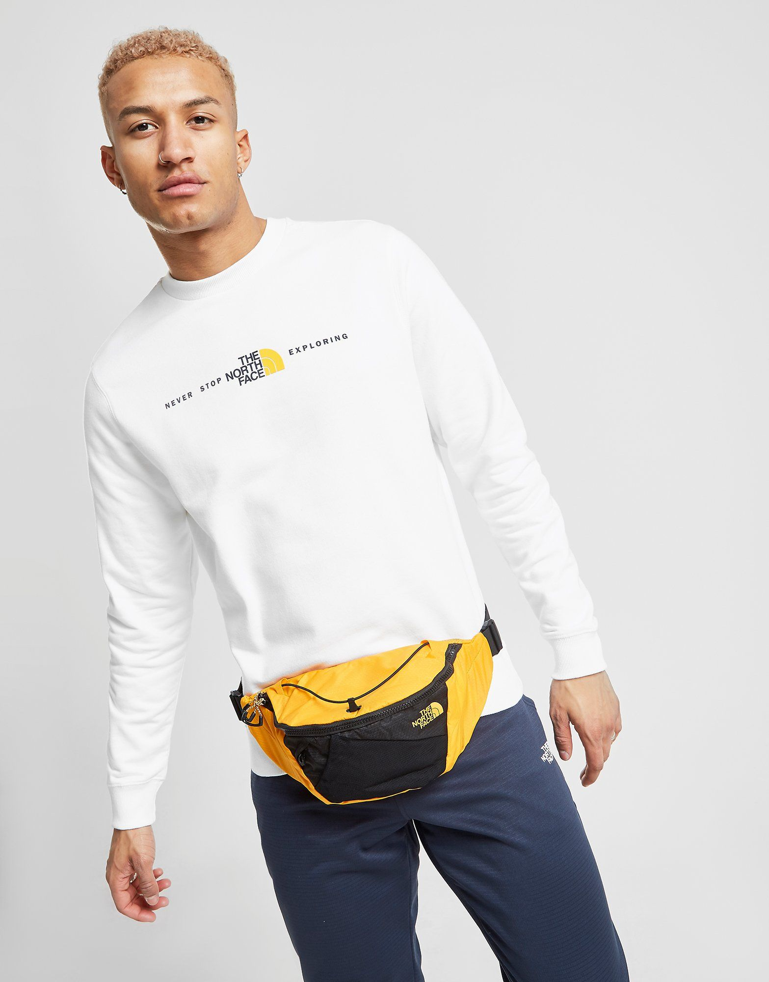 The North Face Never Stop Exploring Crew Sweatshirt by The North Face