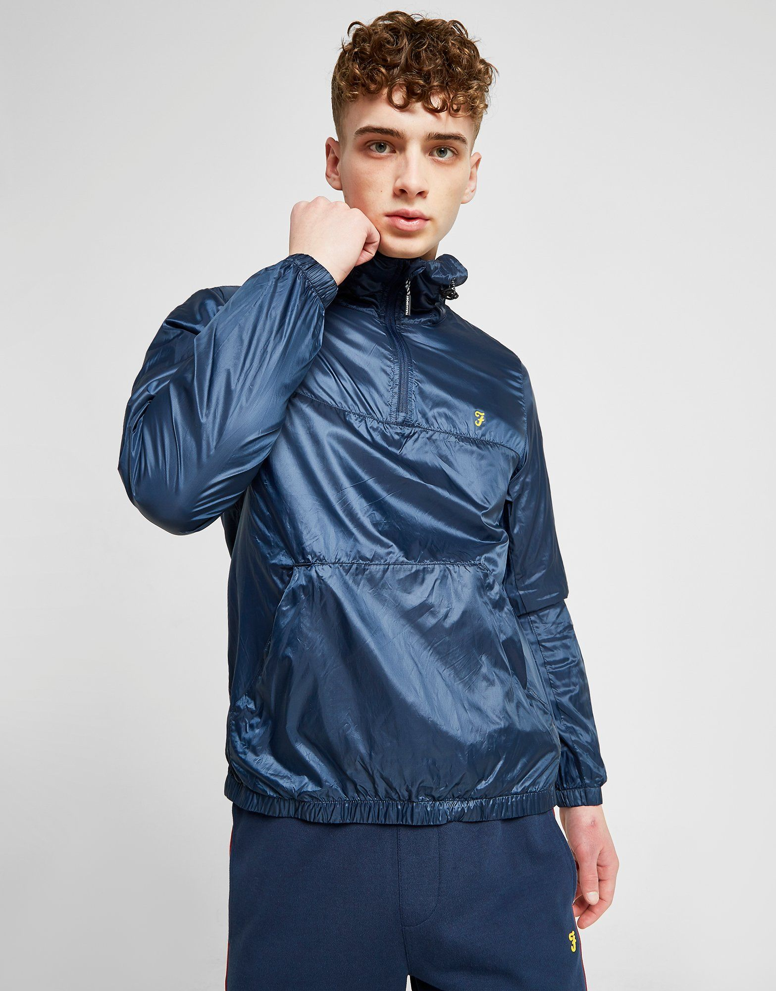 Farah Linwood 1/4 Zip Jacket