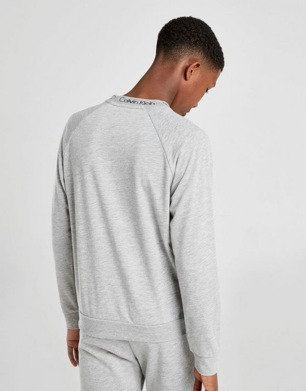 Calvin Klein Jacquard Crew Sweatshirt Junior