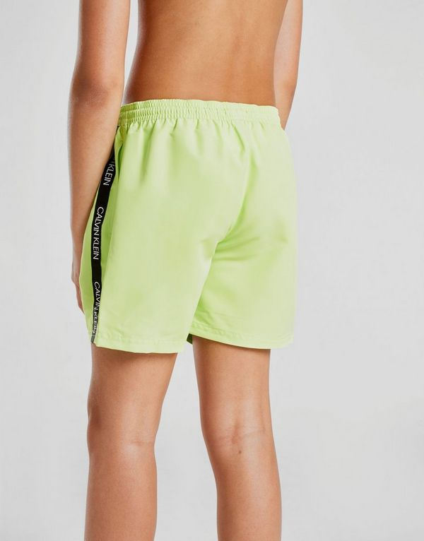 c407e7d3d6 Calvin Klein Tape Swim Shorts Junior | Ritchie