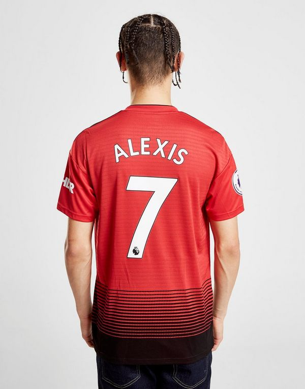 551cac9c343 adidas Manchester United FC 2018 19 Alexis  7 Home Shirt