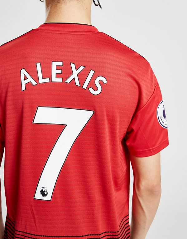 837dfe1b3be62 adidas Manchester United FC 2018/19 Alexis #7 Home Shirt | JD Sports