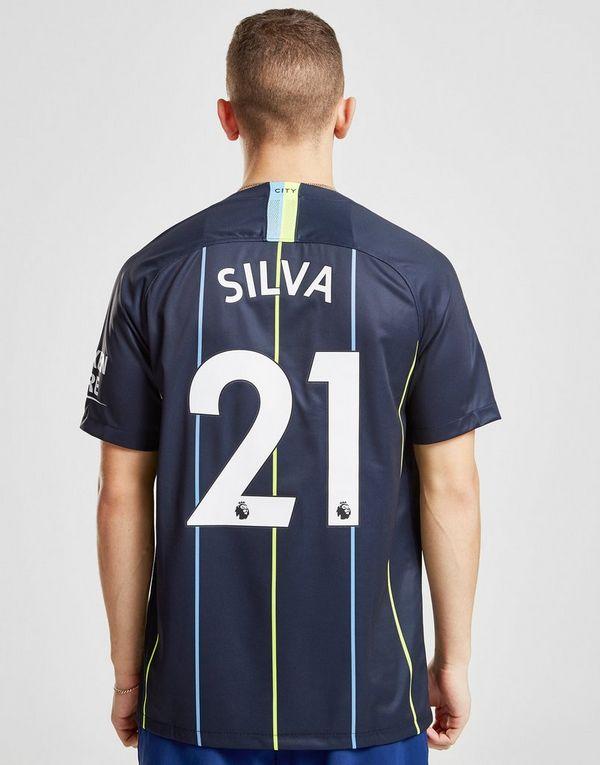 deefc5861 Nike Manchester City FC 2018/19 Silva #21 Away Shirt. Reduced to clear ...