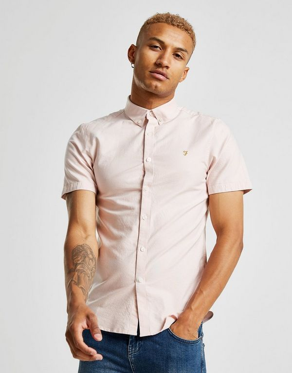 360e2336 Farah Brewer Short Sleeve Shirt | JD Sports