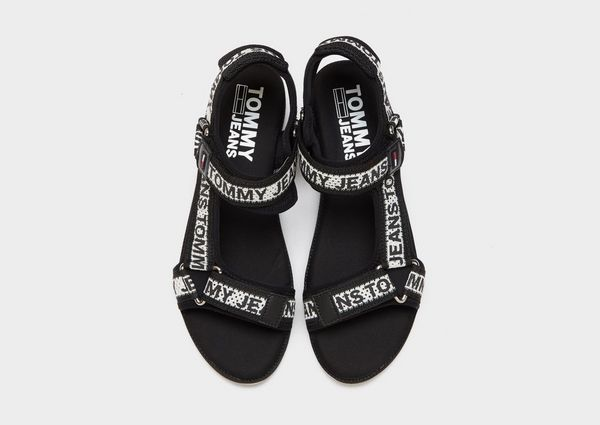 Tommy Jeans Mesh Web Strappy Sandals Women's