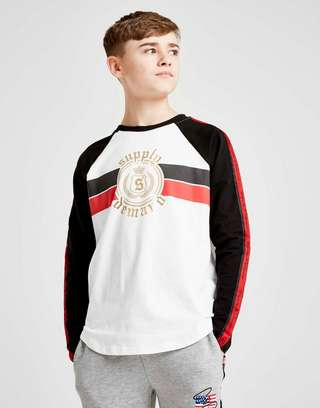 Supply & Demand Goth Long Sleeve T-Shirt Junior