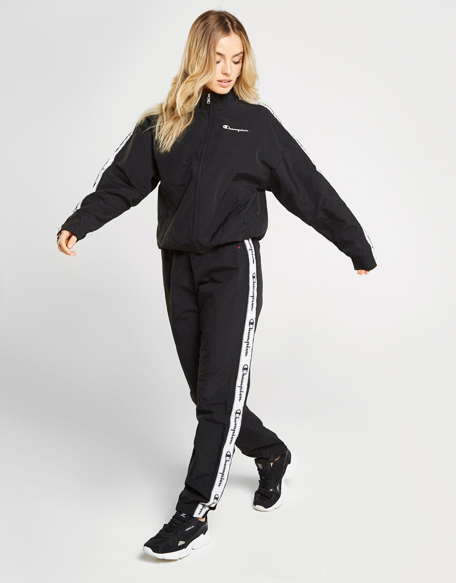 Champion Tape Woven Track Top