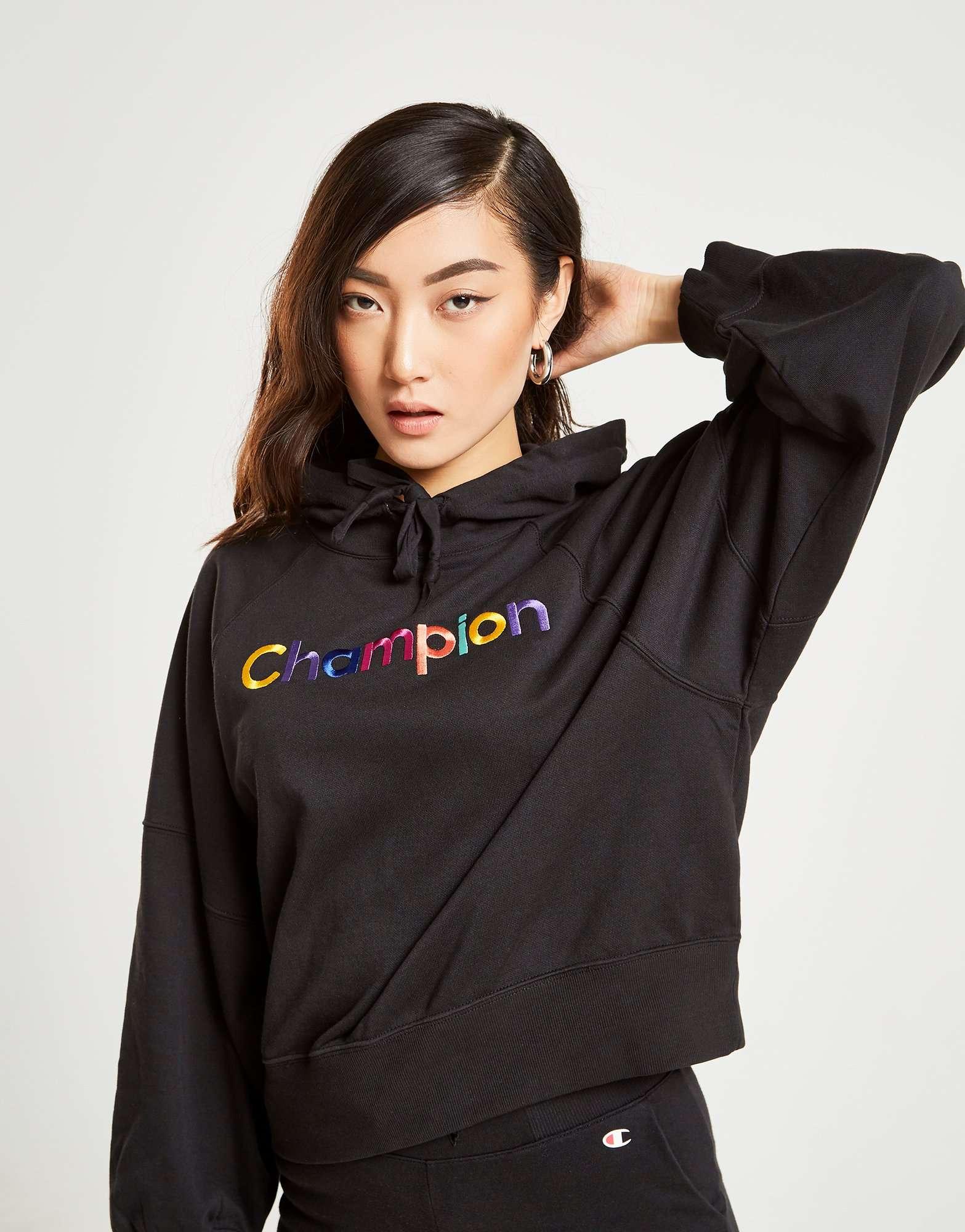 Champion Rainbow Logo Hoodie
