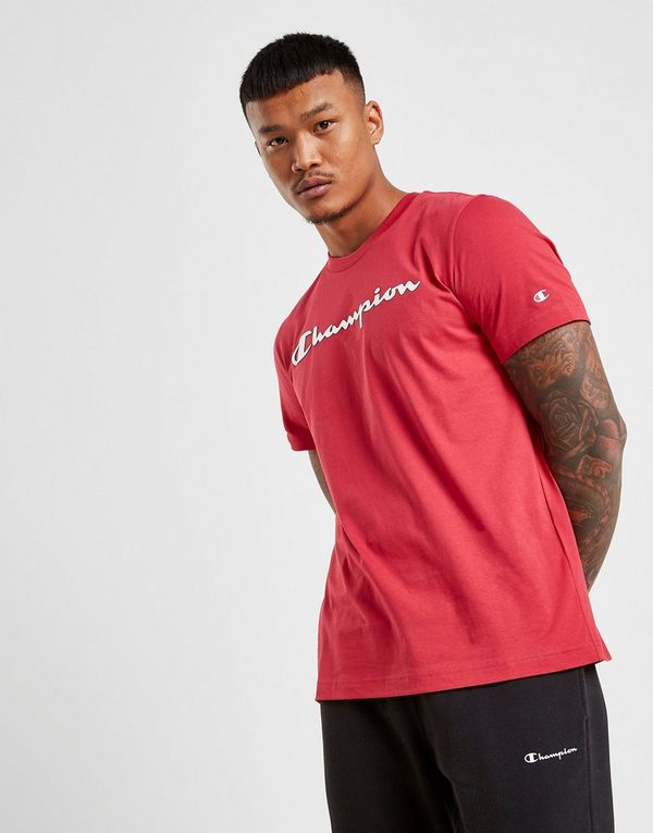a90cdf15 Champion Core Script T-Shirt | JD Sports