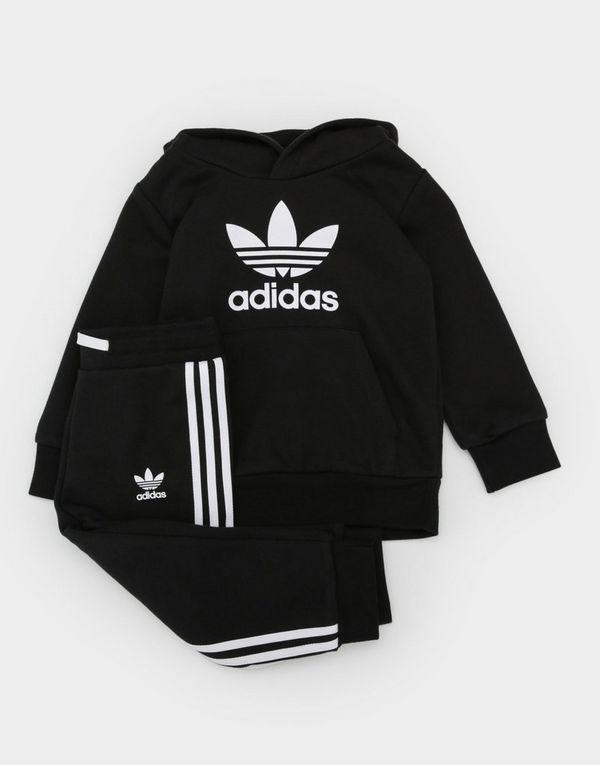e3e375c2 adidas Originals adicolor Trefoil Hoodie Set Infant | JD Sports