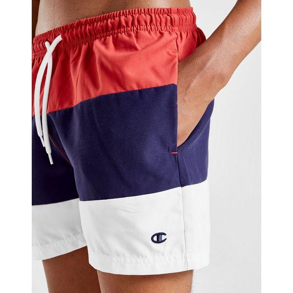 Champion Tri-Colour Block Swim Shorts Junior