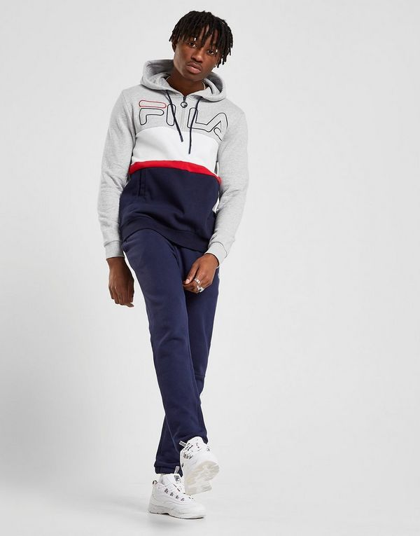 21e3d81460d5 Fila Rumi Colour Block 1/4 Zip Hoodie | JD Sports