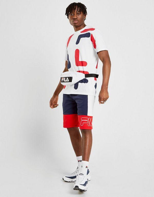 9e893ffb1636 Fila Reiley Colour Block Shorts   JD Sports