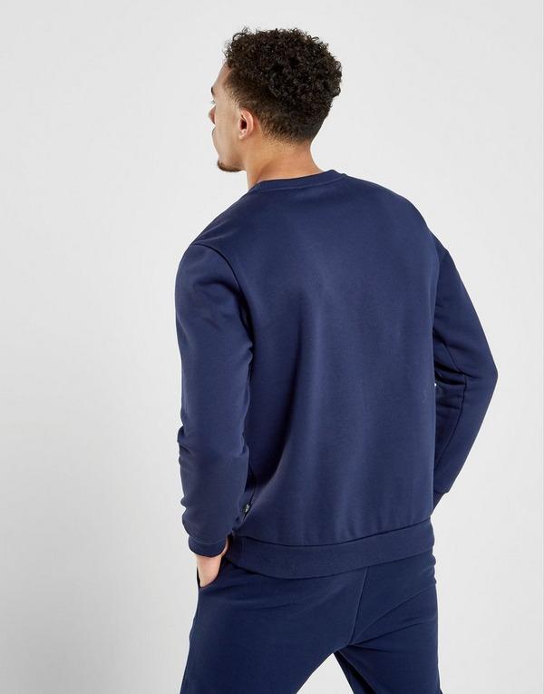 Koop Blauw PUMA Core Logo Crew Sweatshirt Heren   JD Sports
