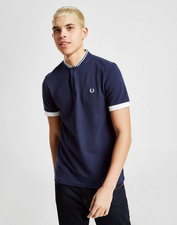 ee2867a0 Fred Perry Twin Tip Bomber Collar Polo Shirt | JD Sports