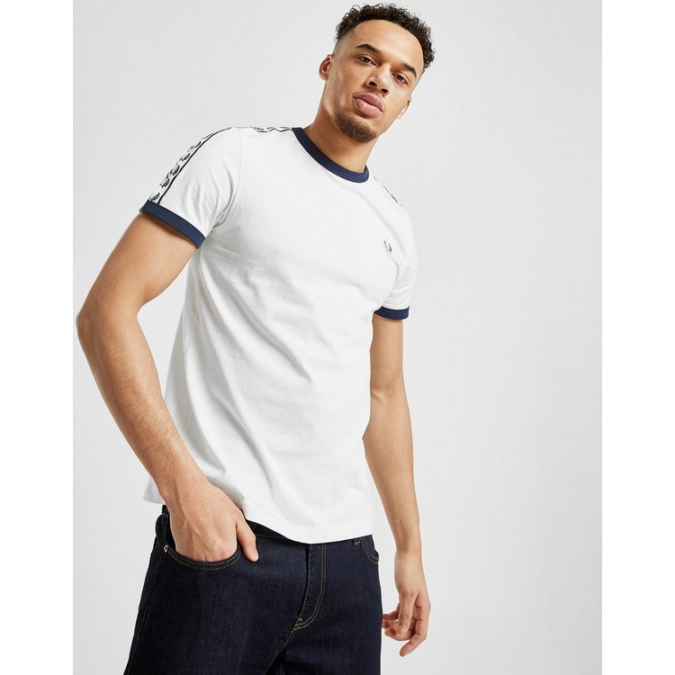 Fred Perry Taped Retro Ringer T-Shirt Heren