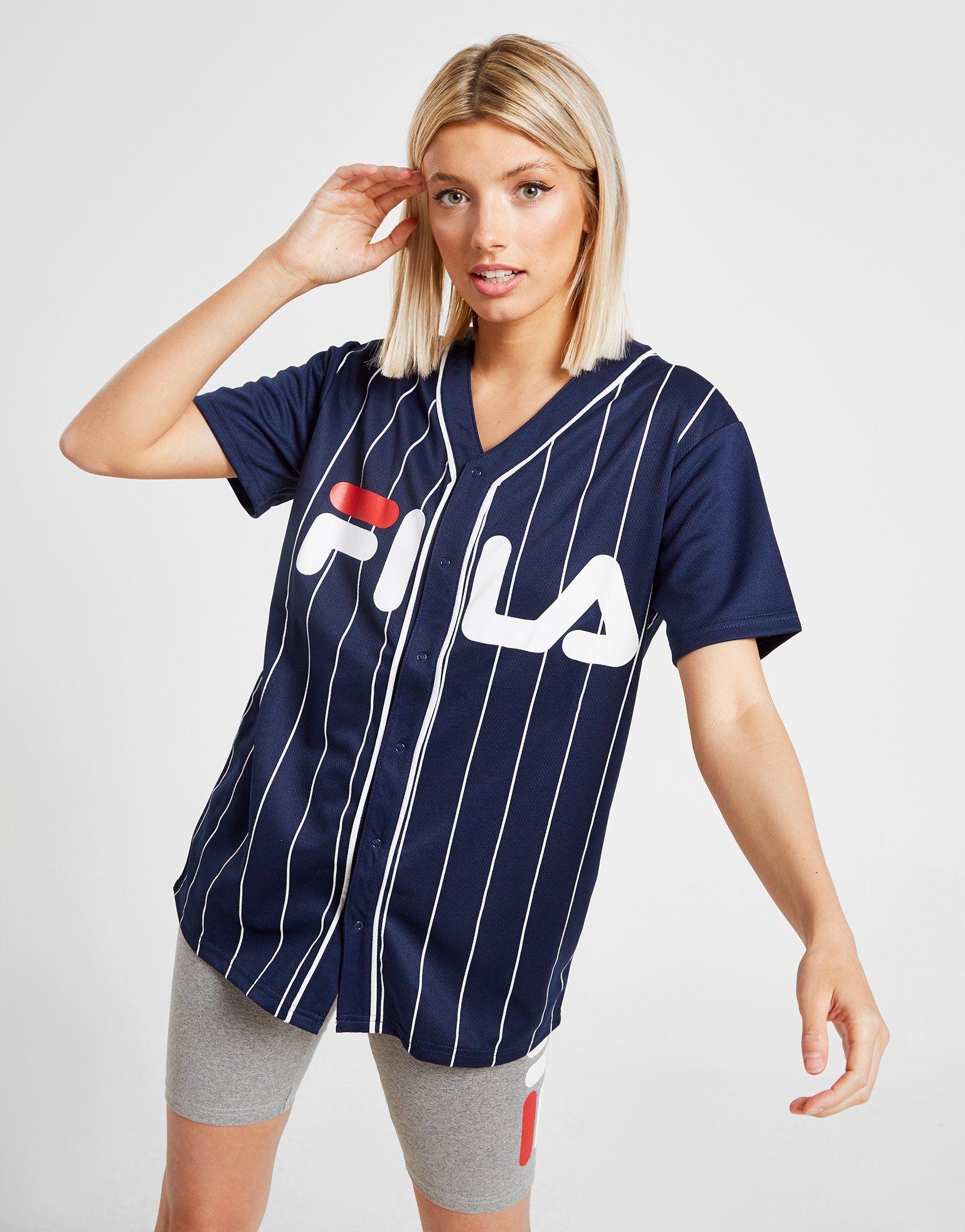 Fila camiseta Stripe Baseball