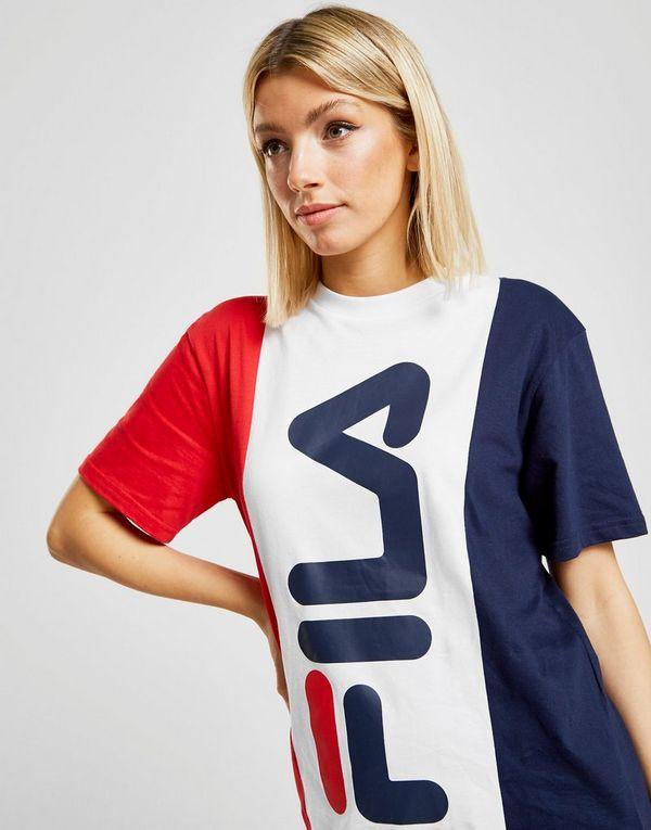 75fba05fab9 Fila Panel Boyfriend T-Shirt | JD Sports