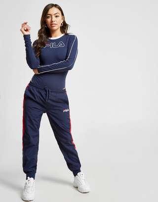 Fila Piping Long Sleeve Bodysuit   JD Sports