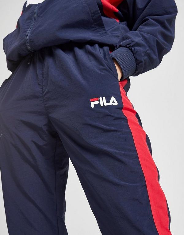 Shop den Fila Colour Block Trainingshose Damen in Blau | JD