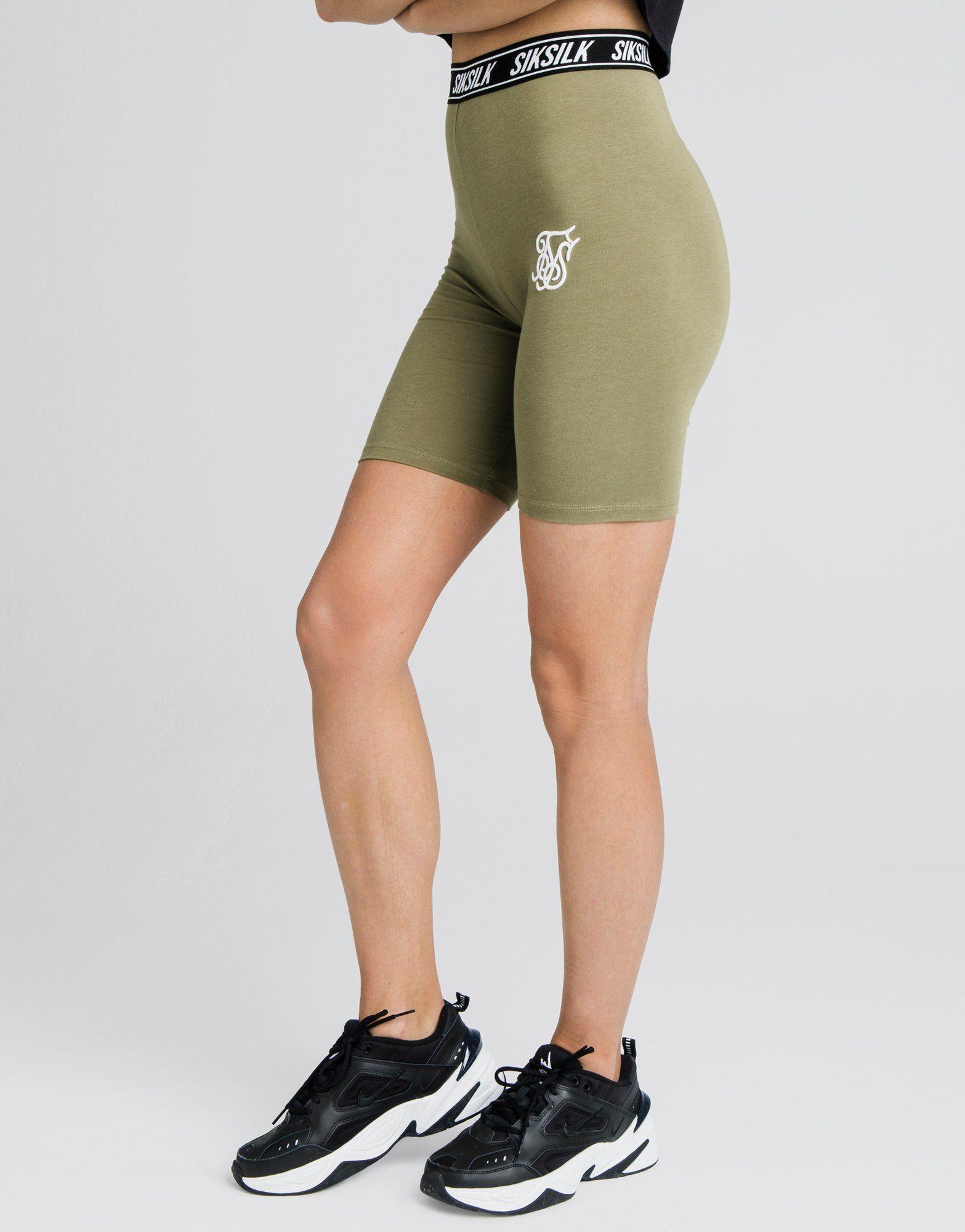 SikSilk Tape Cycle Shorts