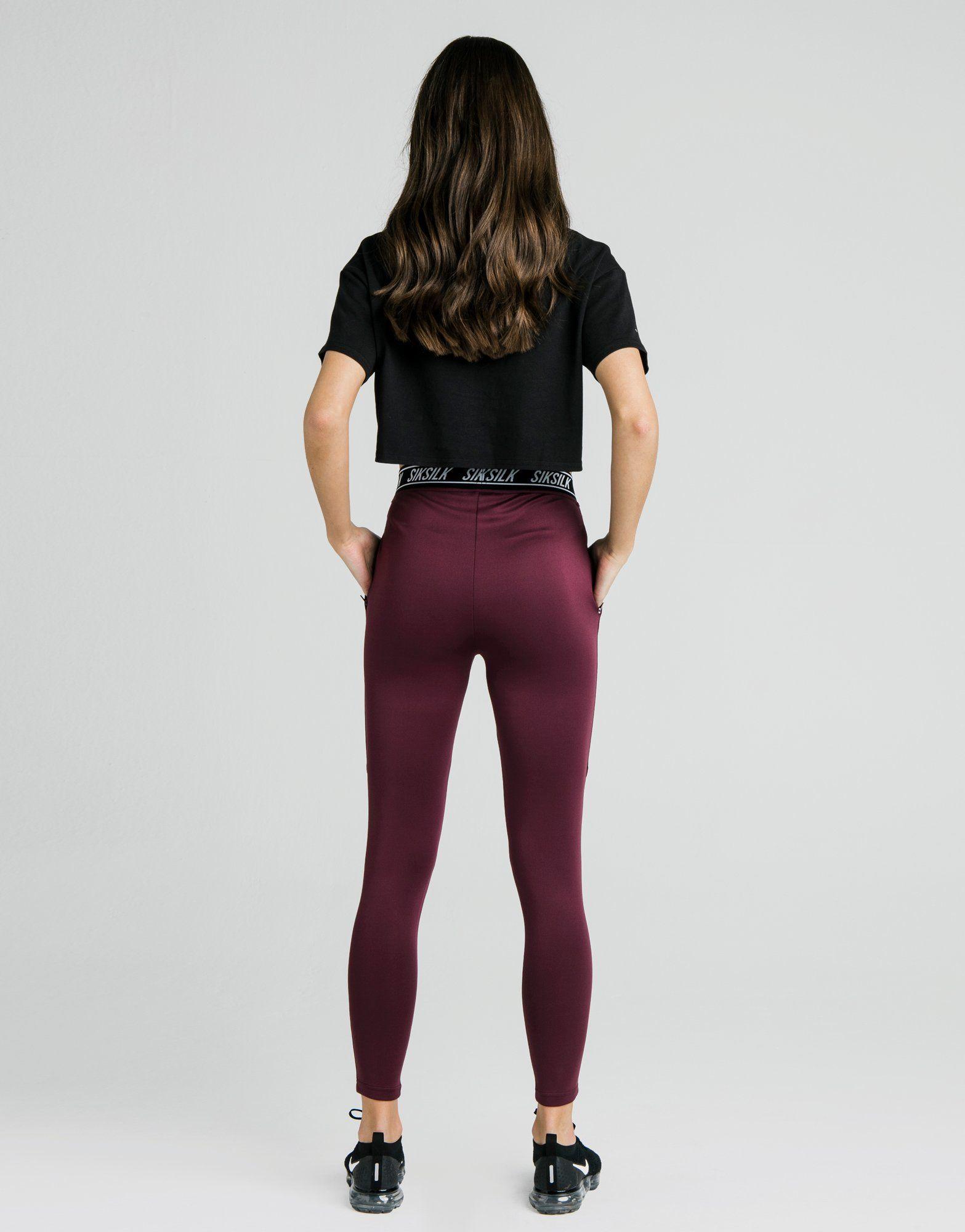 SikSilk Tape Track Pants