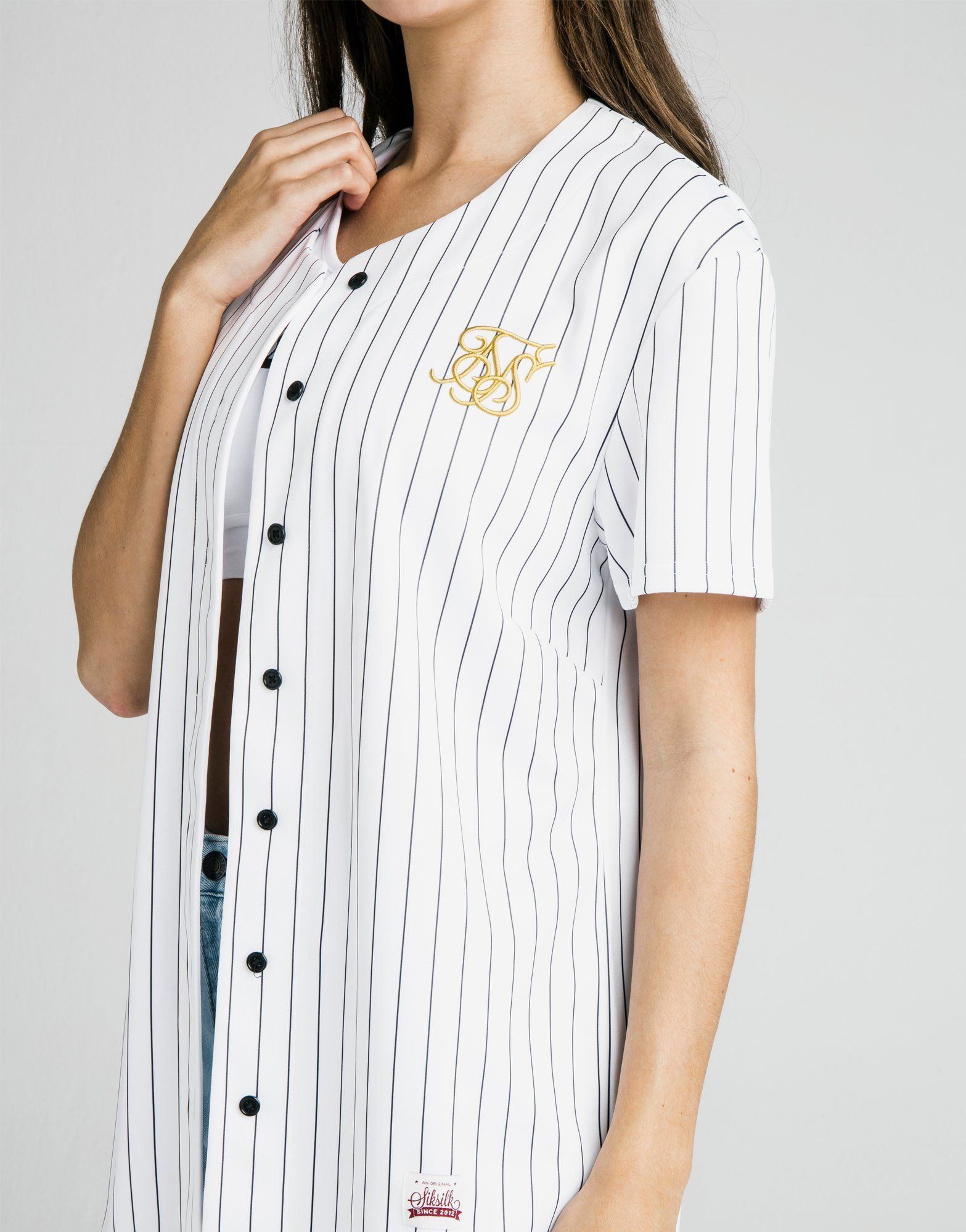 SikSilk Baseball T-Shirt